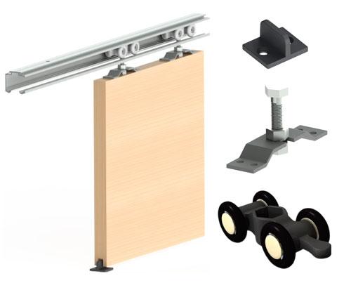 Casas cocinas mueble decoracion de hogar manualidades - Rieles para puertas ...